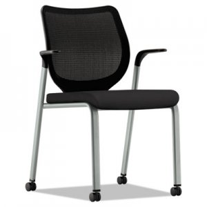 HON Nucleus Multipurpose Stacking Chair, ilira-Stretch M4 Back/Platinum HONN606HCU10T1 HN6.F.H.IM.CU10.T1