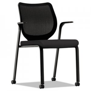HON Nucleus Multipurpose Stacking Chair, ilira-Stretch M4 Back, Black Seat/Base HONN606HCU10 HN6.F.H.IM.CU10.T