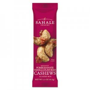 Sahale Snacks Glazed Mixes, Cashew Pom Vanilla, 1.5 oz, 18/Carton SMU900021 9386900021