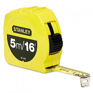 "Stanley Tools Tape Measure, 3/4"" x 16ft BOS30496 30-496"