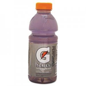 Gatorade Wide Mouth Bottle Drink, Riptide Rush, 20oz Bottle, 24/Carton GTD32488 32488