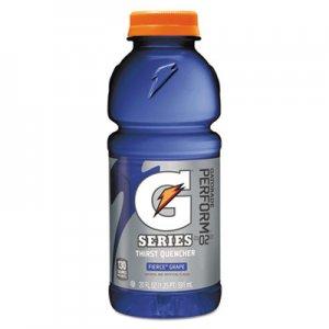 Gatorade Wide Mouth Bottle Drink, Grape, 20oz Bottle, 24/Carton GTD32482 32482