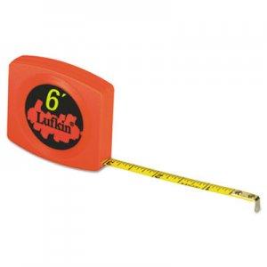 Lufkin Pee Wee Pocket Measuring Tape, 6ft LUFW616 W616