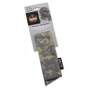 Ergodyne Chill-Its 6700/6705 Bandana/Headband, One Size Fits All, Camo EGO12304 12304