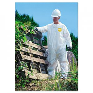 DuPont ProShield NexGen Coveralls, Zip Closure, Large DUPNG120SL NG120SWHLG002500