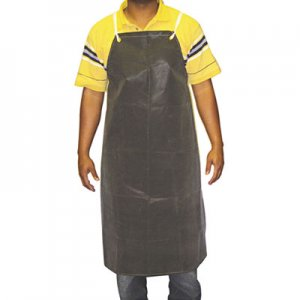 Anchor Brand Hycar Bib Apron with Cloth Backing, 24 in. x 36 in., Black, One Size Fits All ANRAR100 AR