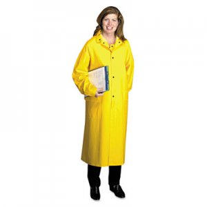 Anchor Brand Raincoat, PVC/Polyester, Yellow, X-Large ANR9010XL 4148/XL
