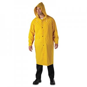 Anchor Brand Raincoat, PVC/Polyester, Yellow, 2X-Large ANR90102XL 4148/XXL