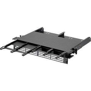 Panduit 1 RU HD Flex 6-Port Enclosure FLEX1U06