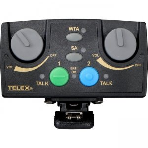 RTS Narrow Band UHF Two-Channel Binaural Wireless Synthesized Portable Beltpack TR-82N-A25 TR-82N