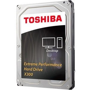 Toshiba 8TB Desk Internal HDD 7200RPM 128MB (X300) HDWF180XZSTA