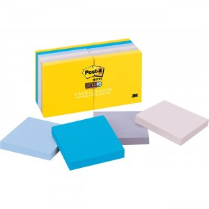 Post-it New York Collection Post-it Super Sticky Notes 65412SSNY MMM65412SSNY