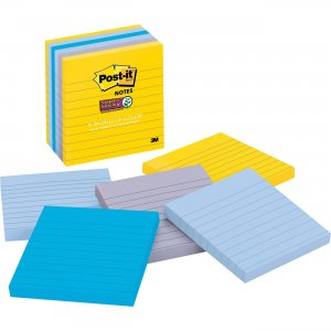 Post-it New York Collection Post-it Super Sticky Notes 6756SSNY MMM6756SSNY