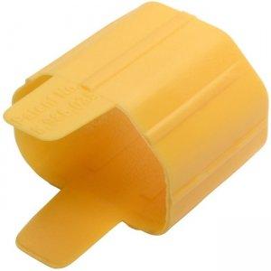 Tripp Lite Plug-Lock Inserts, Yellow PLC14YW