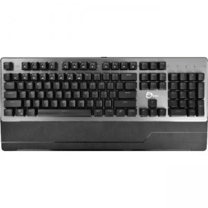 SIIG USB Wired Mechanical Gaming Keyboard With 7 Color LED Backlit JK-US0M12-S1