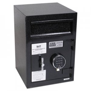 FireKing Depository Security Safe, 14 x 15 1/2 x 20, Black FIRSB2014BLEL SB2014-BLEL