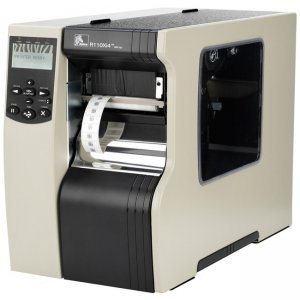 Zebra RFID Label Printer Government Compliant R12-801-00000-GA R110Xi4