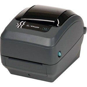 Zebra GX430t Label Printer For Apple Computer GX43-202410-00AV GX430d