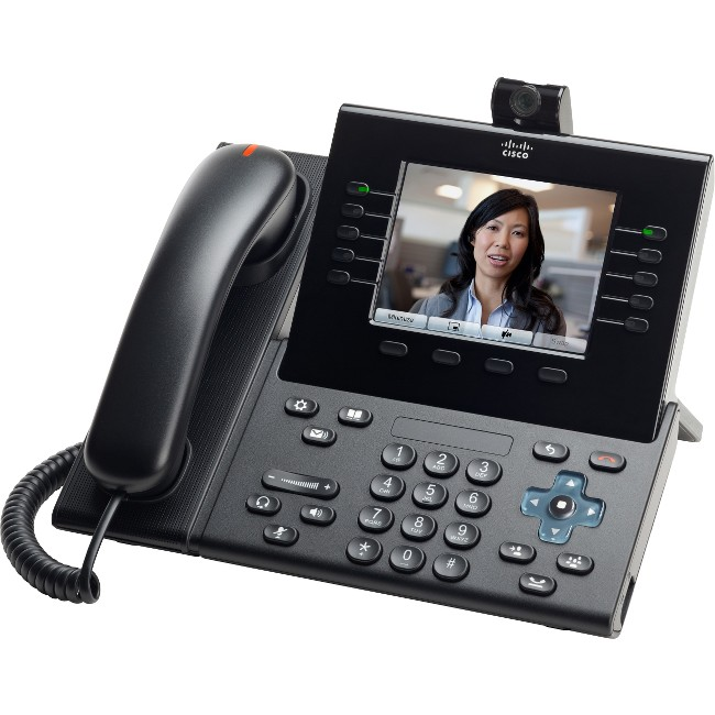 Cisco Slimline Handset for IP Phone - Refurbished CP-9951-CL-K9-RF