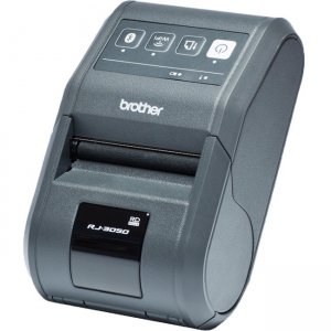 Brother 3 Inch Receipt & Label Mobile Printer RJ3050AI RJ-3050AI