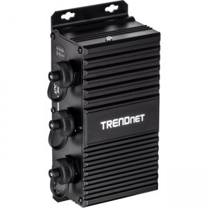 TRENDnet 2-Port Industrial Outdoor Gigabit UPoE Extender TI-EU120