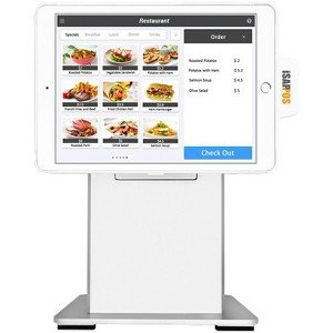 """POS-X iSAPPOS 12B Stand, iPad Pro 12.9"""", White ISAPPOS-12B-WH"""