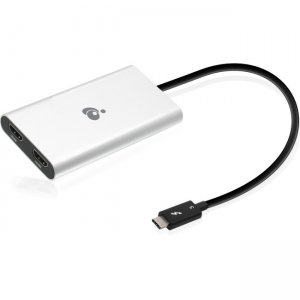 Iogear Thunderbolt 3 to Dual 4K HDMI Adapter GTC3DHD