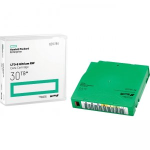 HPE LTO-8 Ultrium 30TB RW Custom Labeled Library Pack 20 Data Cartridges with Cases Q2078AL