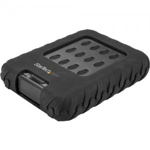 "StarTech.com USB 3.1 (10Gbps) External Hard Drive Enclosure - For 2.5"" SATA SSD/HDD - Rugged S251BRU31C3"