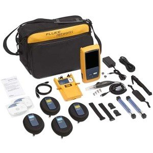 Fluke Networks OptiFiber Pro Quad OTDR with Inspection Kit with 1 Year of Gold Support OFP2-100-QI/GLD OFP2