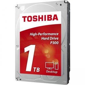 Toshiba 3.5-inch Internal HDD - High-Performance Hard Drive HDWD110UZSVA P300
