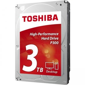 Toshiba 3.5-inch Internal HDD - High-Performance Hard Drive HDWD130UZSVA P300