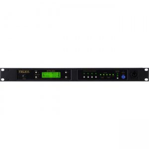 RTS Narrow Band UHF Two-Channel Wireless Synthesized Base Station BTR-80N-F1R BTR-80N