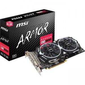 MSI ARMOR Radeon RX 580 Graphic Card R580AR8C RX 580 ARMOR 8G OC