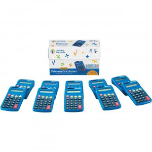 Learning Resources Primary Calculator Set LER0038 LRNLER0038