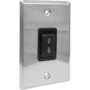 Draper ILT Single Station Low Voltage Wall Switch 121185