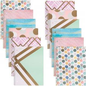 Mead Shape It Up 1-subject Notebook 07152 MEA07152