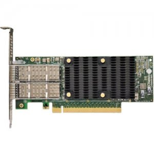 Chelsio High Performance, Low Profile, Dual Port 40/50/100GbE Server Offload Adapter T62100-SO-CR