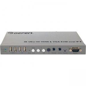 Gefen 4K Ultra HD HDMI and VGA KVM over IP - Receiver Unit EXT-UHDV-KA-LANS-RX