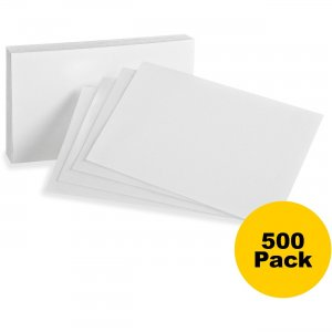 Oxford Plain Index Cards 30BD OXF30BD