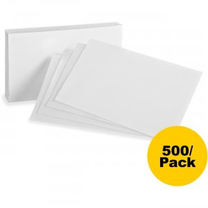 Oxford Plain Index Cards 40BD OXF40BD