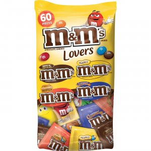 M&M's Chocolate Candies Lovers Variety Pack SN51793 MRSSN51793