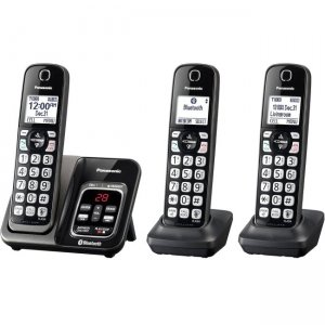 Panasonic Link2Cell Trio Cordless Phone KX-TGD563M