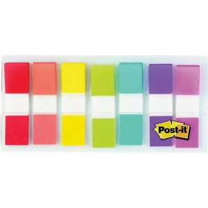 "Post-it Assorted 1/2"" Portable Flags 6837CF MMM6837CF"