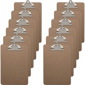 Business Source Standard Metal Clip Clipboard 16506BX BSN16506BX