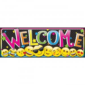 Ashley Magnetic Emoji Welcome Banner 11310 ASH11310