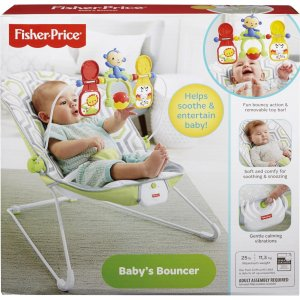 Fisher-Price Baby's Bouncer CMR17 FIPCMR17