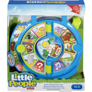 Little People World of Animals See 'n Say Toy DVP80 FIPDVP80