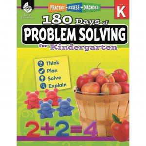Shell 180 Days of Problem Solving for Kindergarten 51612 SHL51612