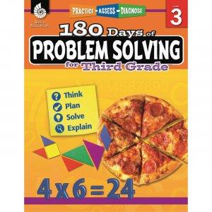 Shell 180 Days of Problem Solving for Third Grade 51615 SHL51615